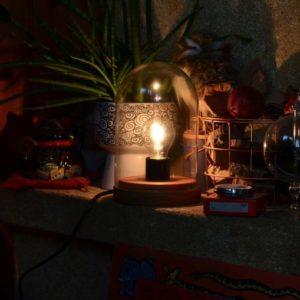 Lampe précieuse
