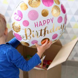 Le ballon anniversaire