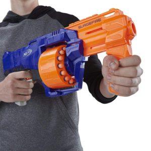 Pistolet à fléchettes Nerf