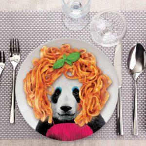 Assiette Wild Dining Patricia Panda