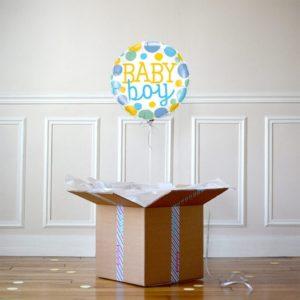 Ballon cadeau- baby boy