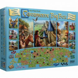 CARCASSONNE : BIG BOX