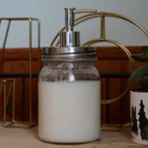 Distributeur de savon Mason Jar