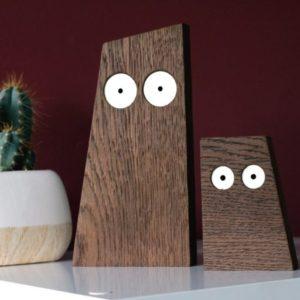 Chouette en bois Les Ducs