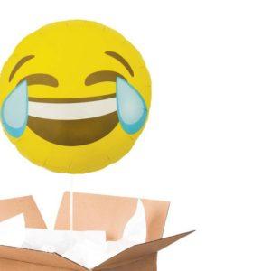 Ballon emoji MDR