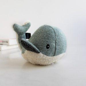 Peluche musicale baleine Moby