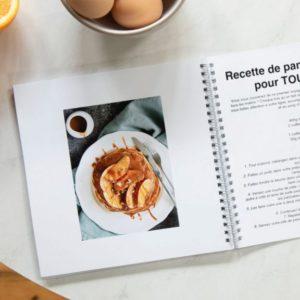 Comment réaliser un livre de recettes personnalisé avec nos Livres Photo