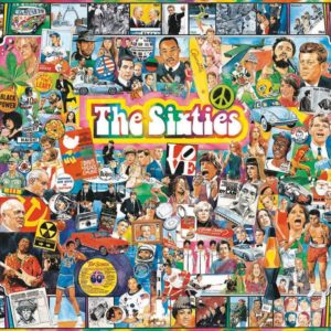 White Mountain Puzzles The Sixties – 1000 Pièces Puzzle