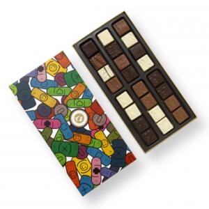 """Boite de chocolats  """"Bon rétablissement"""""""