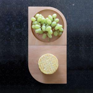 Planche à fromage et apéritif en bois