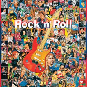 White Mountain Puzzles Rock 'N Roll – 1000 Pieces