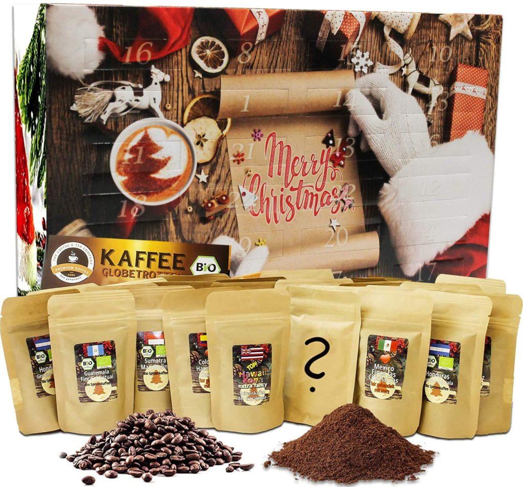 Calendrier de l'avent café organic