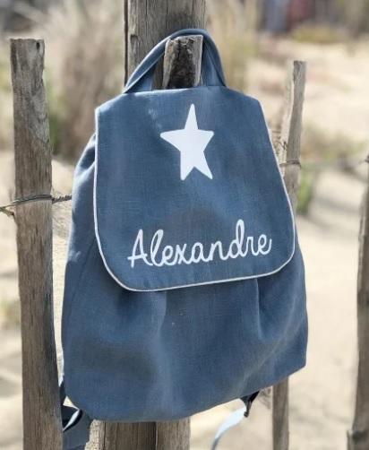 sac a dos personnalisable avec prénom