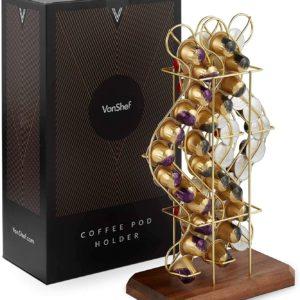 VonShef Porte-capsule de café Distributeur compatible avec les capsules Nespresso