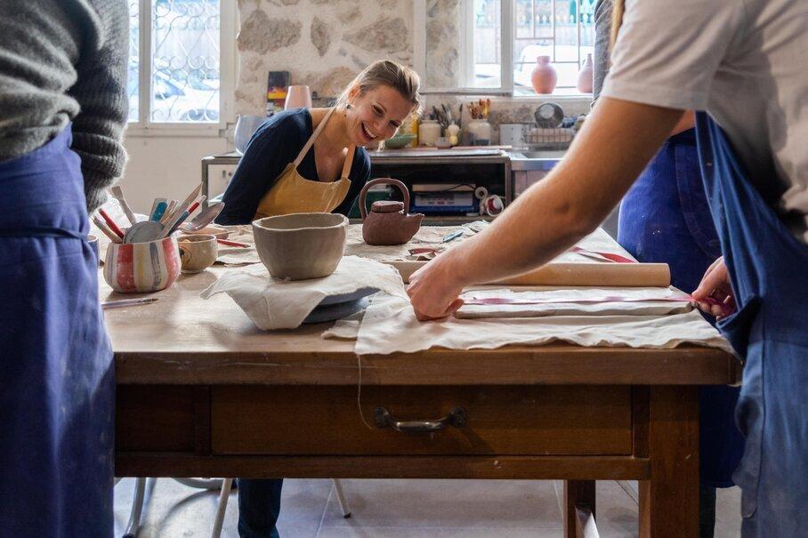 ateliers avec des artisans