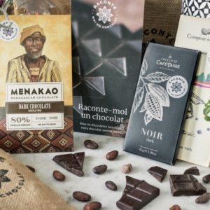 Coffret découverte des chocolats noirs