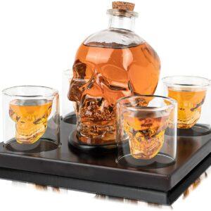 "Carafe à Whisky ""Crâne"""